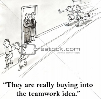 Teamwork idea
