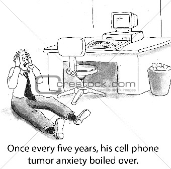 Cell Phone Tumor Paranoia