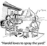 Use of Pesticides on Yard