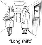 Doctor Has Very Long Shift