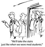 Doctors Behaving like Medical Students