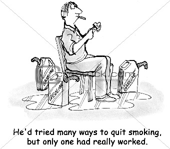 Disastrous Way to Quit Smoking