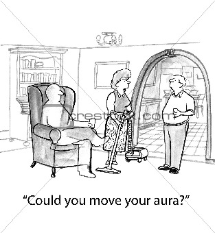 Wife Sees Husband's Aura