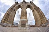 Brooklyn Bridge pylon