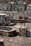 graffiti rooftop