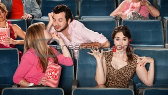 Flirting in The Theater