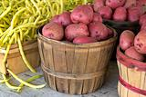 yellow beans and red potatoes