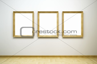 blank frames in the gallery