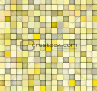abstract 3d gradient backdrop in multiple yellow