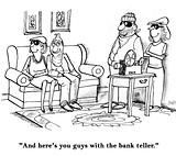 Bank teller
