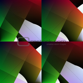Green-red seamless abstract background.