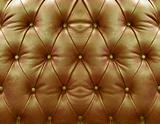 Goldden upholstery leather