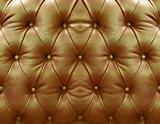 Goldden upholstery leather