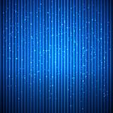 Abstract blue background with lines and small particles