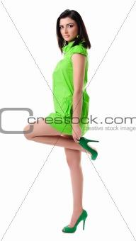 Beautiful girl posing