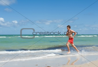 run along the coast