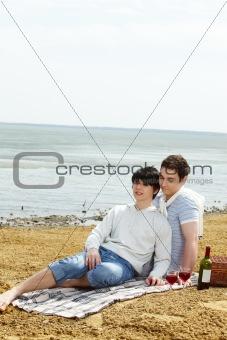 Cute picnickers