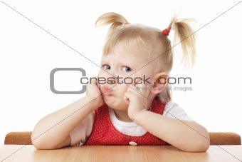 puzzled child