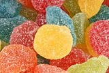 Fruit jellies background