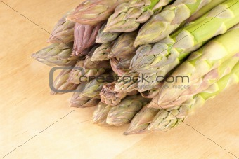 Asparagus close-up