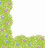 Decorative-corner-element-with-birds