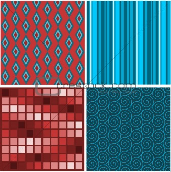 Set of abstract textures