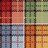 Pixel Plaid_4 Colorways