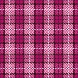 Pixel Plaid_Magenta-Black