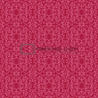 Posh Pattern in Red