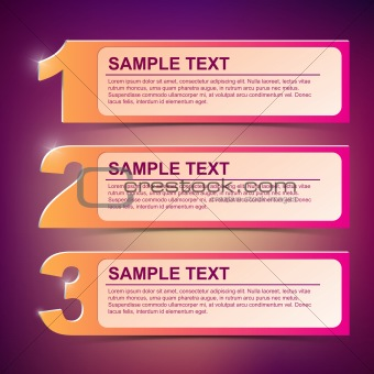 Abstract Text Frame