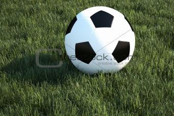 Football and ball