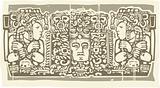 Maya Triptych Woodblock B
