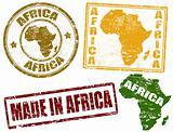 Africa stamps