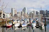 Marina and Condomiuniums at Granville Island