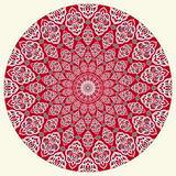 Arabic circular pattern