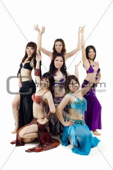 Asian Belly dance troupe