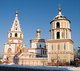 Irkutsk, Russia. Epiphany cathedral
