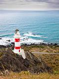 Lighthouse at Cape Palliser, New Zealand