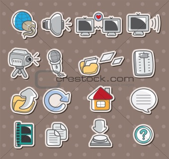 web icon stickers