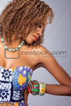 The beautiful Nigerian woman