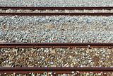 horizontal railway track