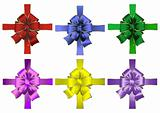 Abstract bows collection