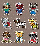 cartoon dog stickers