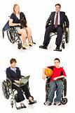 Stock Photo of Disabled People - Multiple Views
