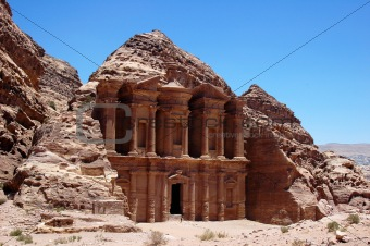 Treasury at Petra,Jordan