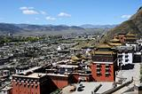 Historic lamasery in Shigatse,Tibet