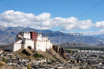 Ancient Tibetan castle