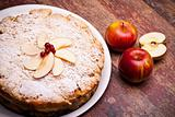 Photo: Cheesecake With Sour Apples
