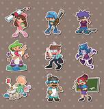 cartoon people stickers
