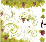 Wine decorative elements